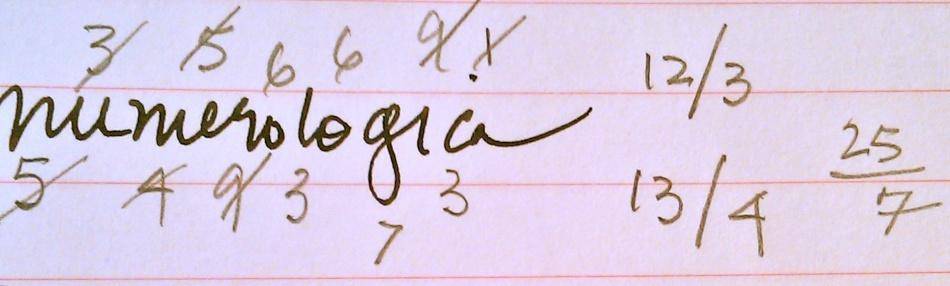 numo notation